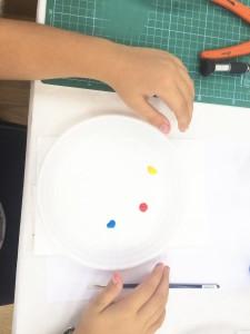Mezcla de colores primarios