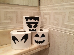 ROLLOS PAPEL WATER HALLOWEEN WEB