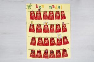Taller infantil calendario de adviento web