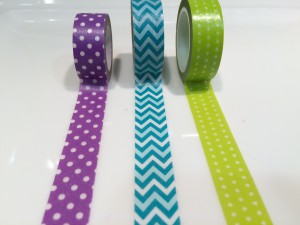 MATERIALES PARA MANUALIDADES: WASHI TAPE O CELO DECORATIVO